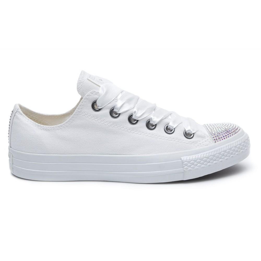245f1b718 Converse Swarovski White I Low