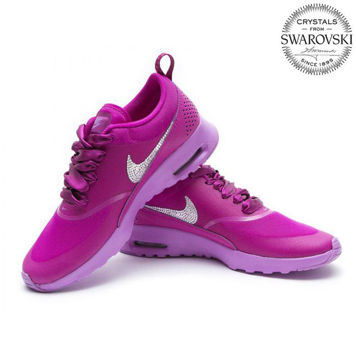 Nike Air Max Thea Swarovski Pink - Shoozers  Shoozers 6d7dad9cc8f