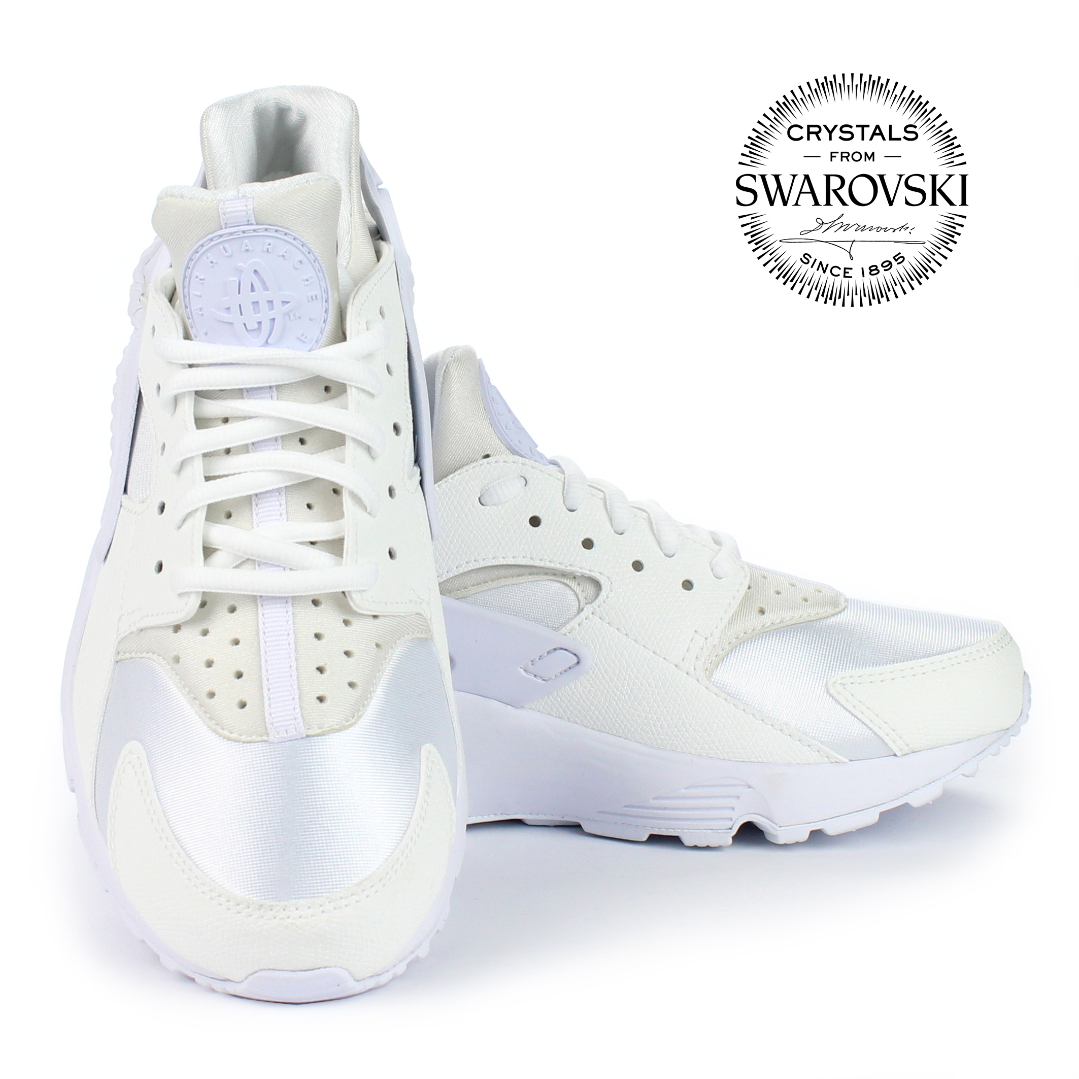 online store 05234 41b43 NIKE HUARACHE ROSE GOLD SWAROVSKI LIMITED EDITION