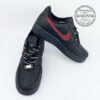 Nike supreme air force 1 low black swarovski