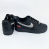 Nike supreme air force 1 low black swarovski ab
