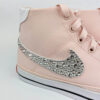 Nike court legacy canvas crystal silver